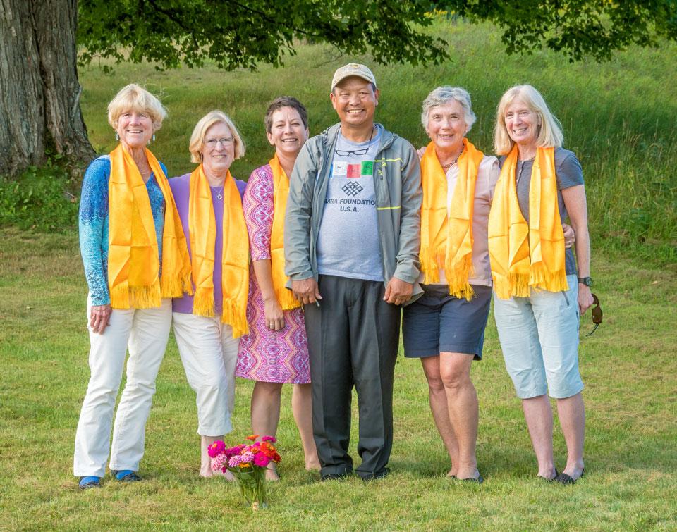 That Tara Foundation USA Board 2016 with Chhongba Sherpa. Photo by: Jim Block Photography