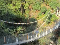 Khahare Khola Steel Cable Bridge