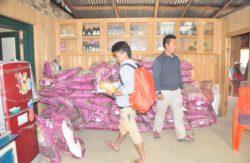 Rice and Salt Distribution