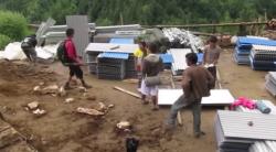 Rebuilding in the Taksindu District