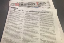 In the Press: The Mountain Times 1